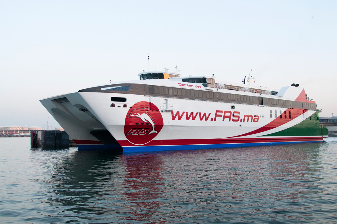 FRS ferry from Tarifa to Tangier