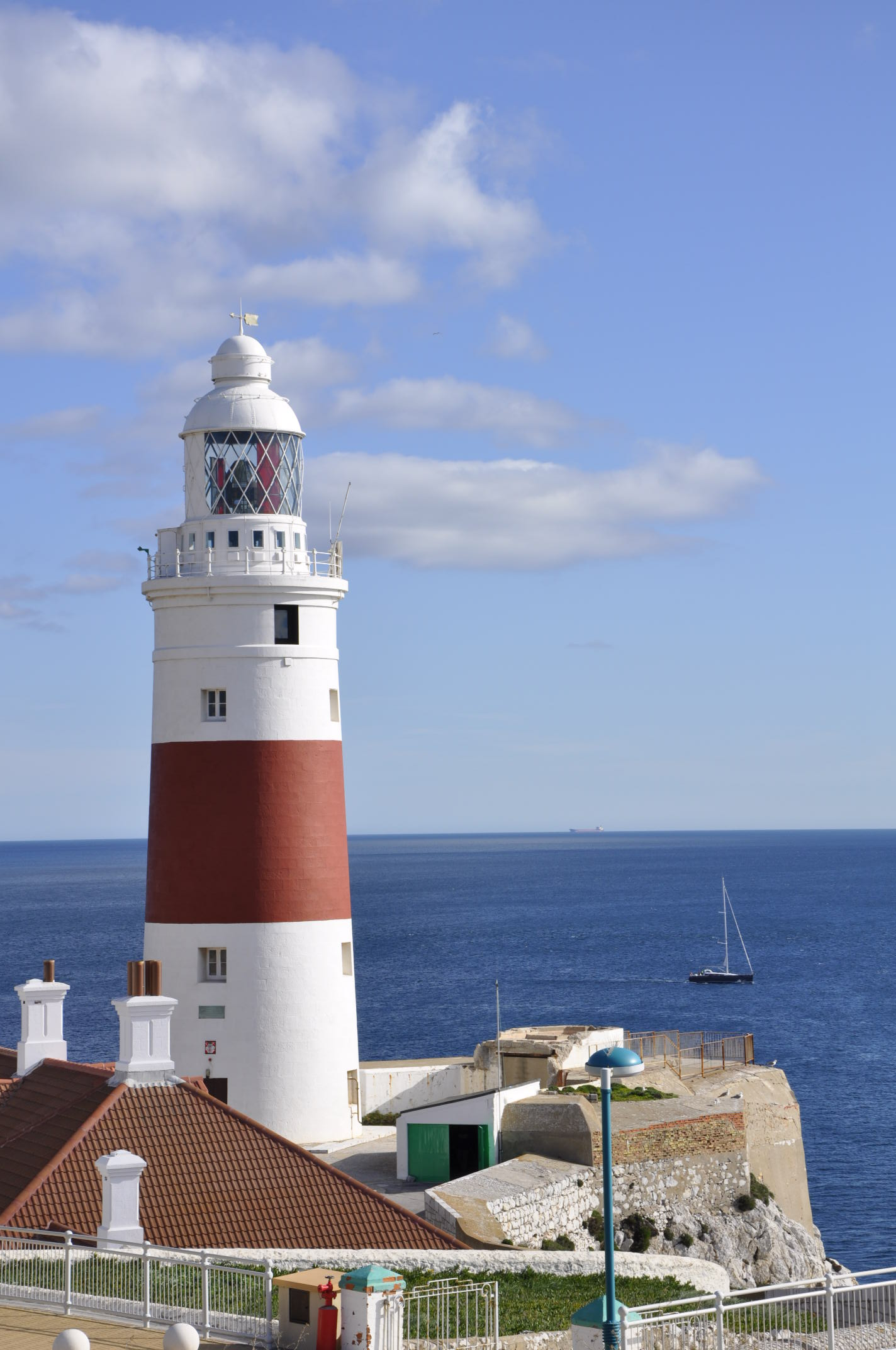 Europa Point lighthouse Gibraltar