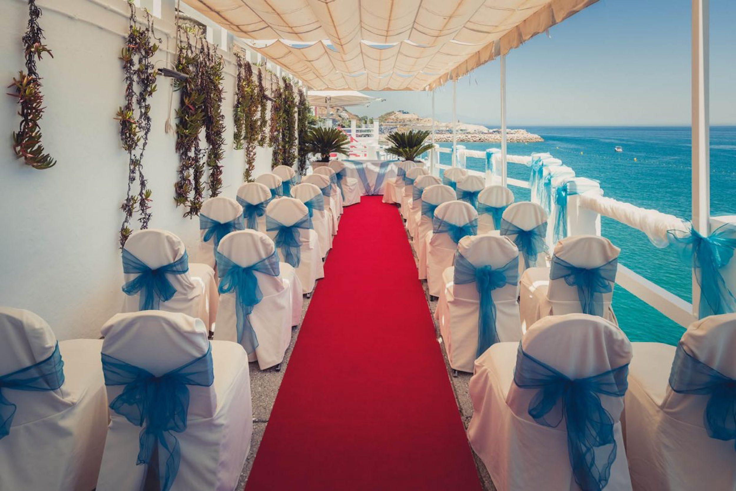 wedding at the Caleta Hotel Gibraltar