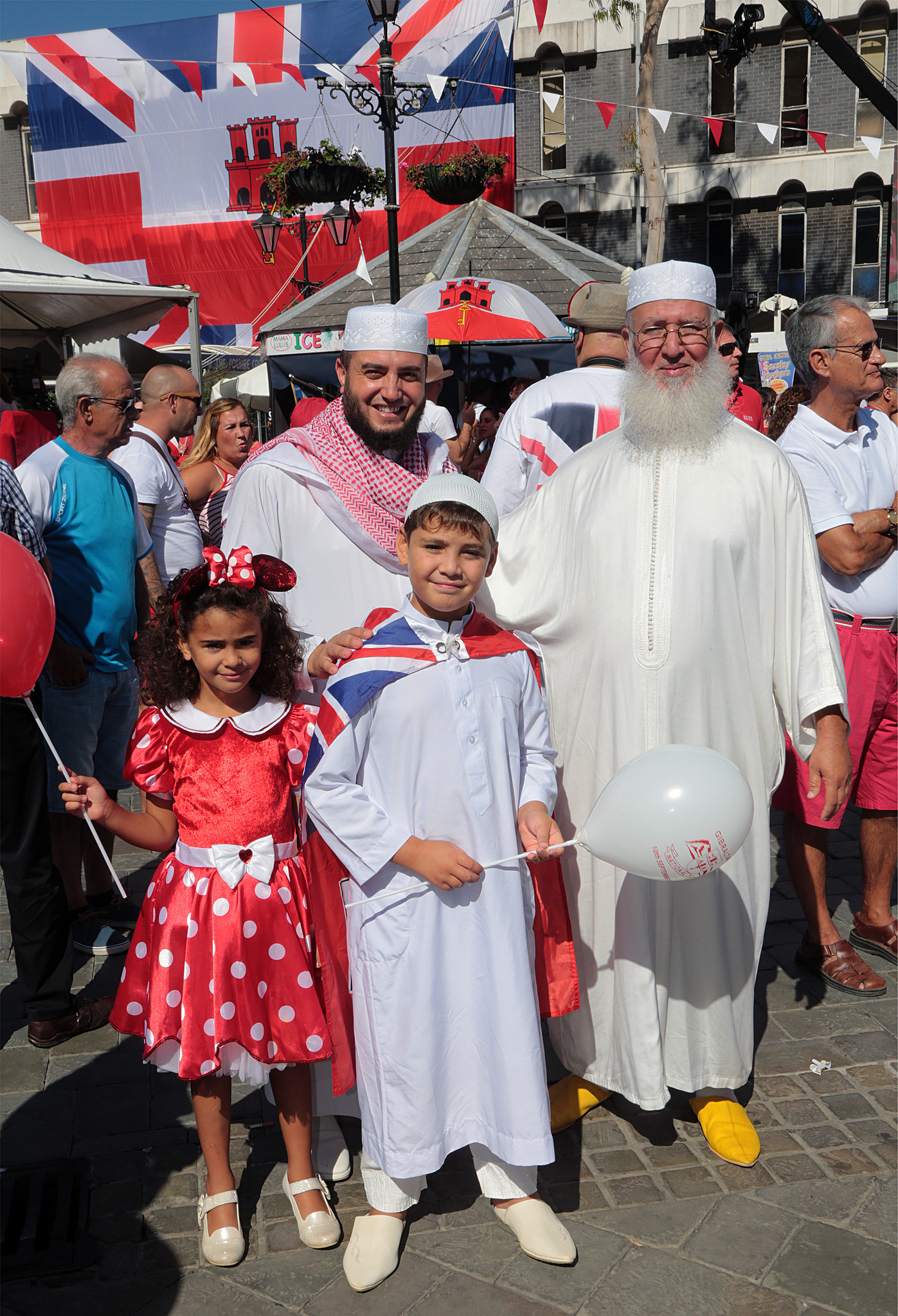 Melting pot Gibraltar is stirred by National Day