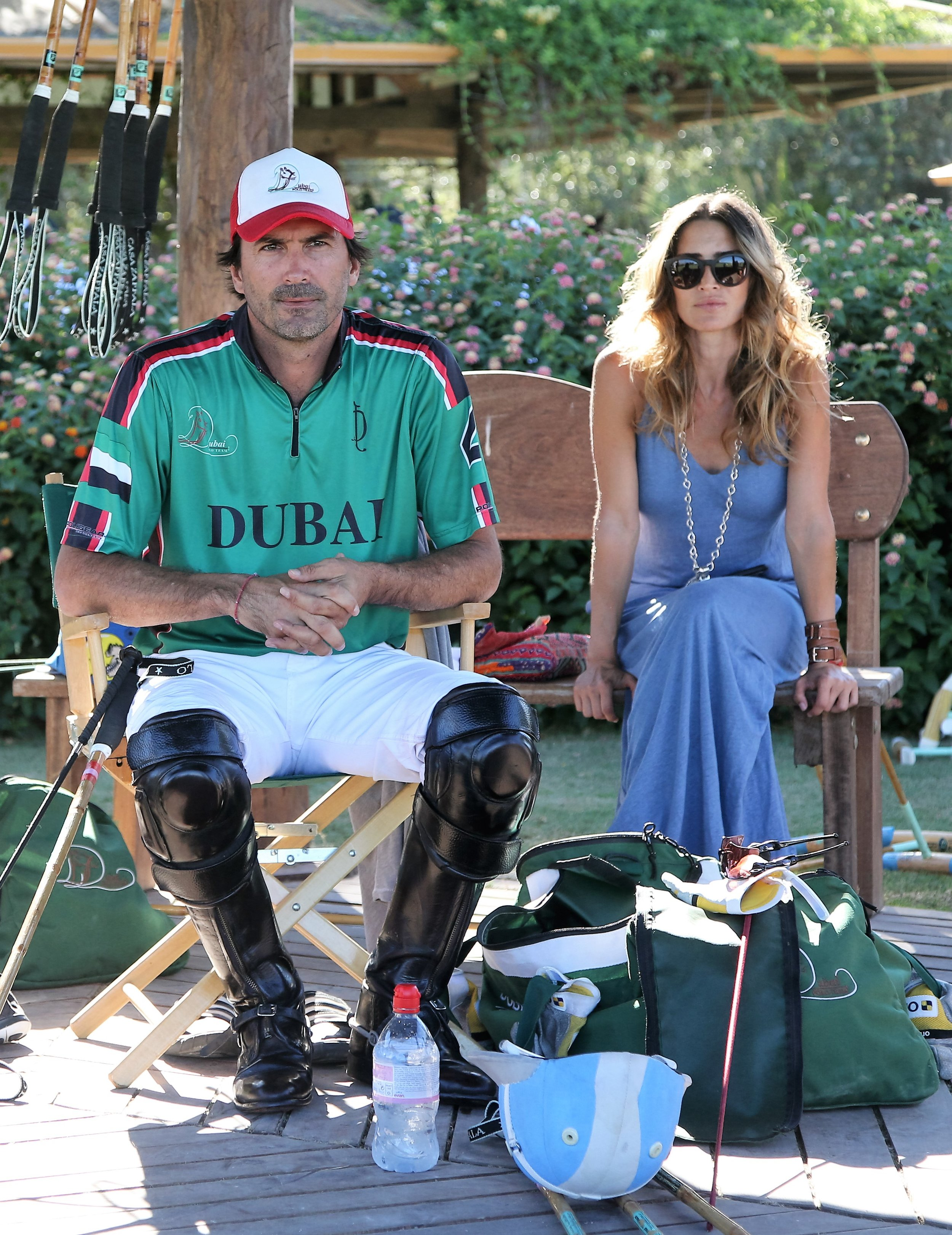 Argentina's Posh 'n' Becks at Sotogrande polo