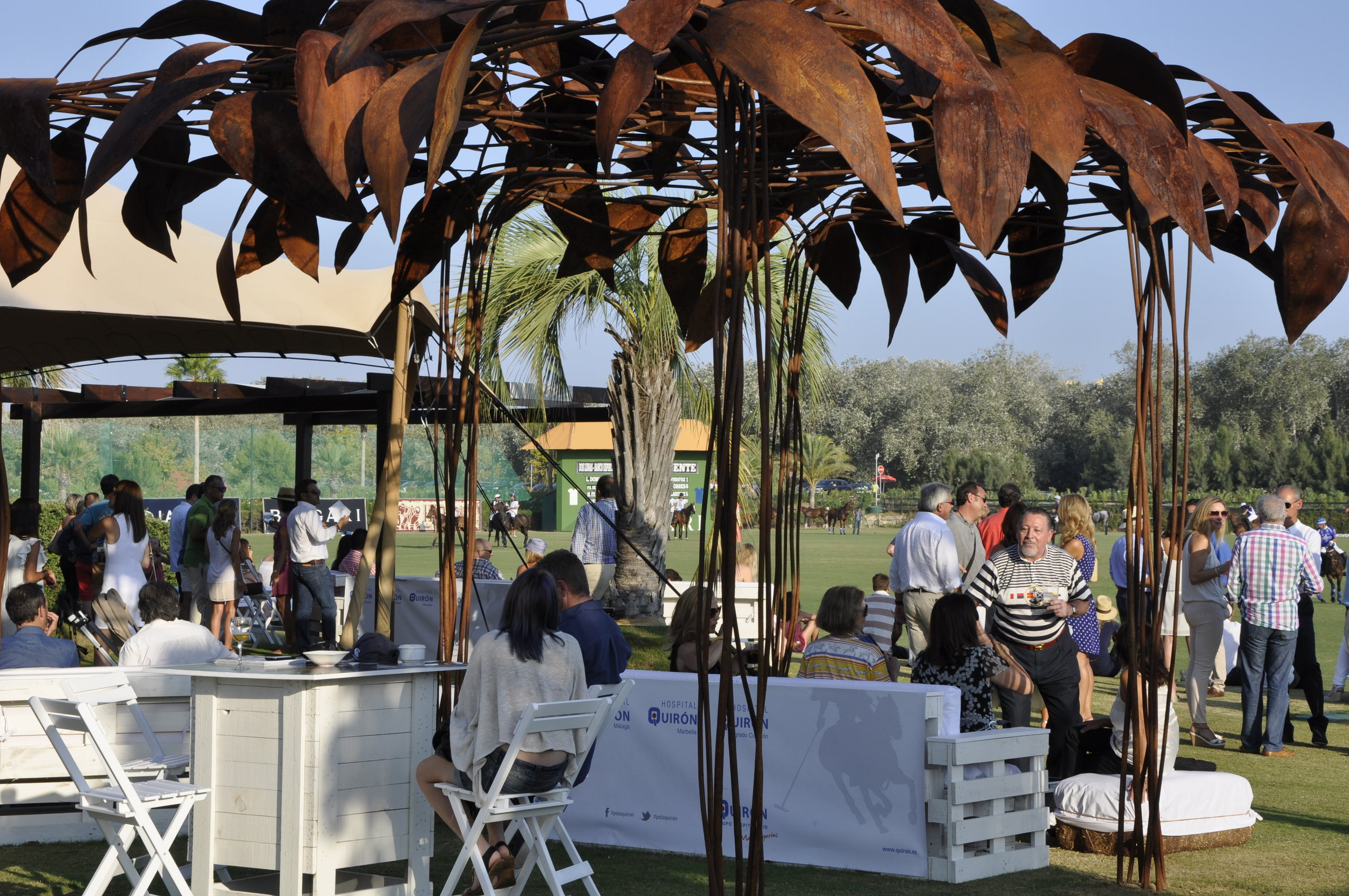 Sotogrande polo dining
