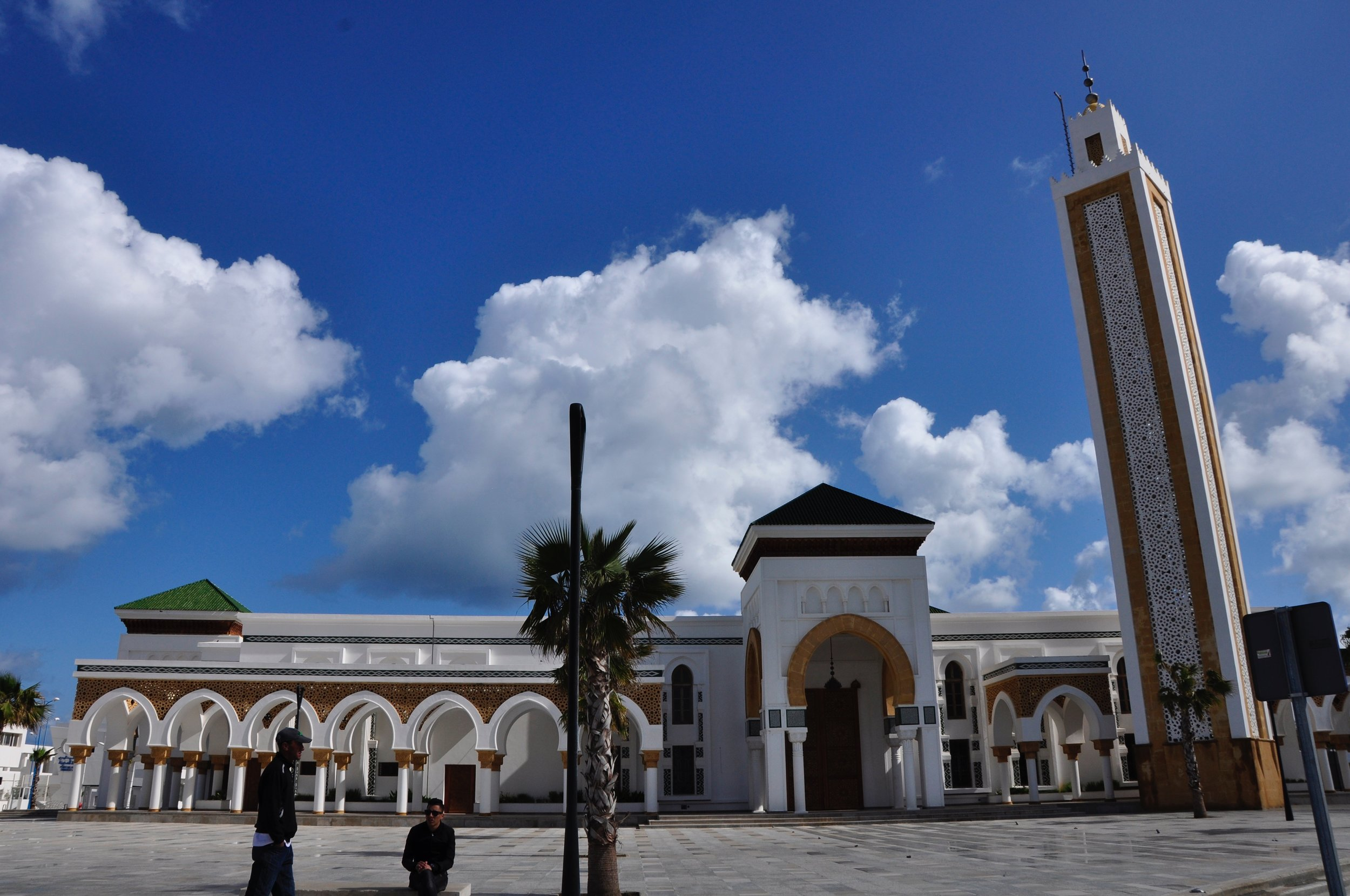 Tangier's new mosque