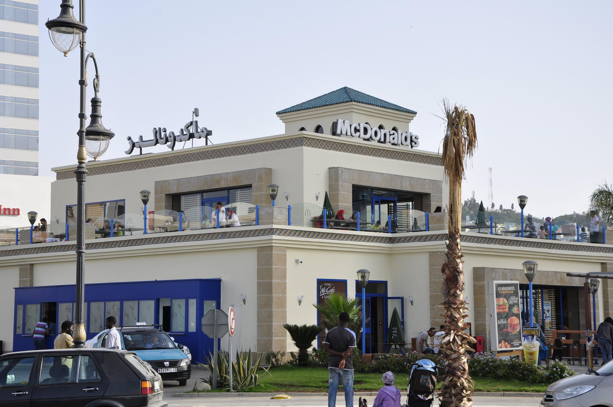 Buy a Big Mac in Tangier