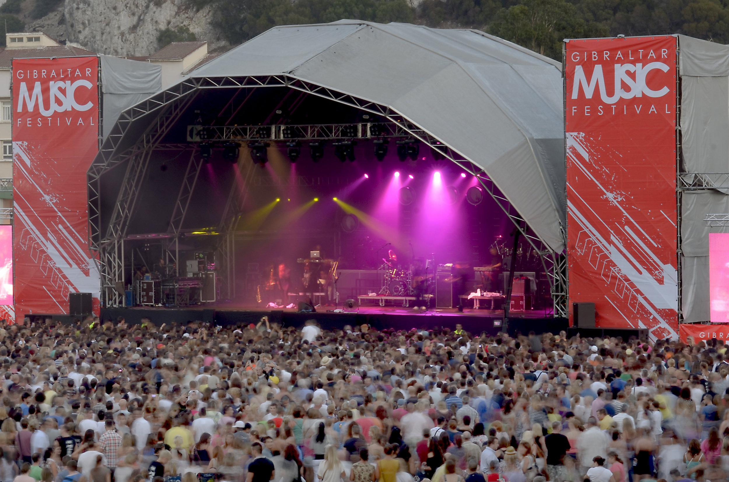 MTV Gibraltar Calling rock fest