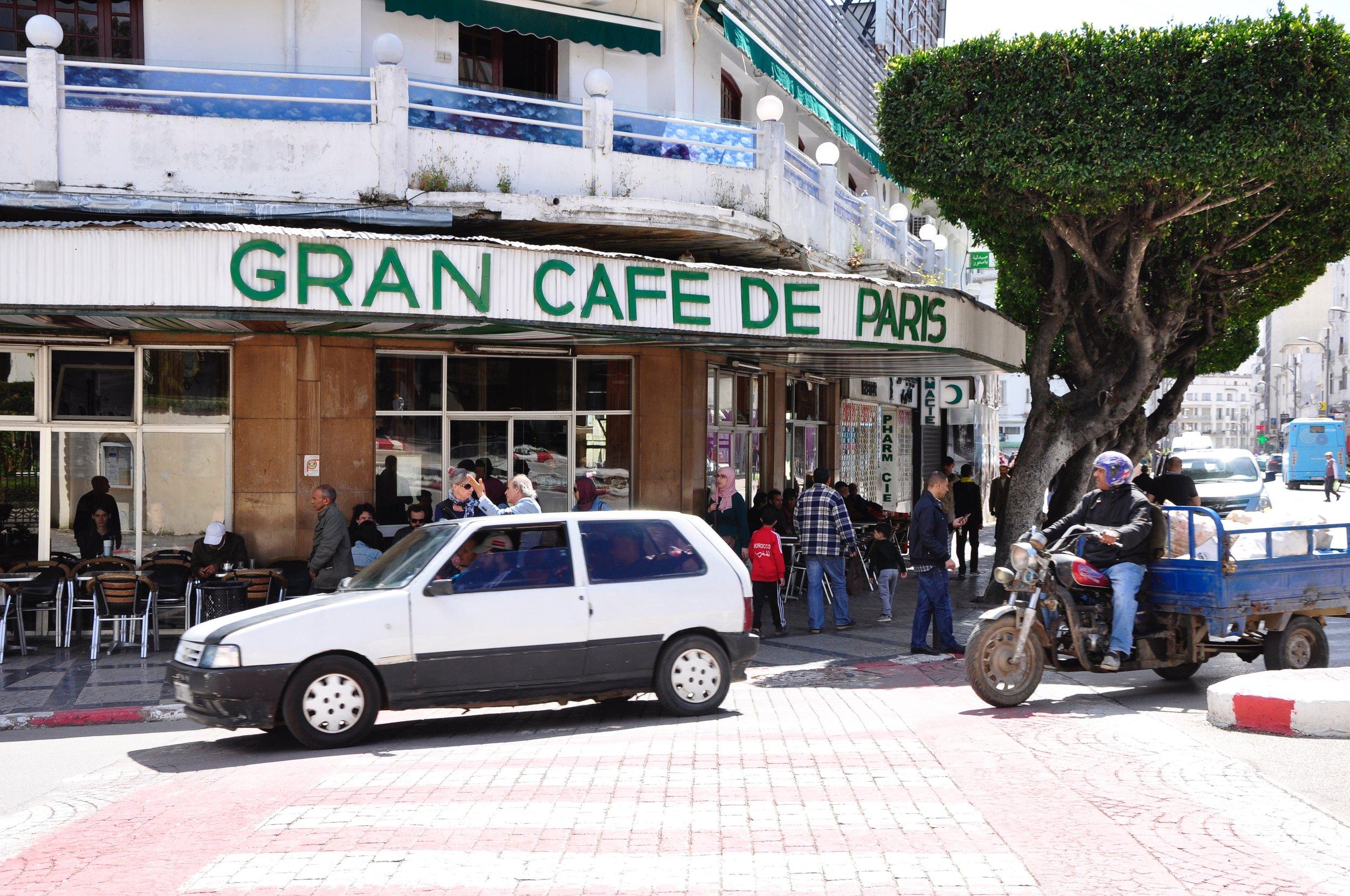 Spy cafe