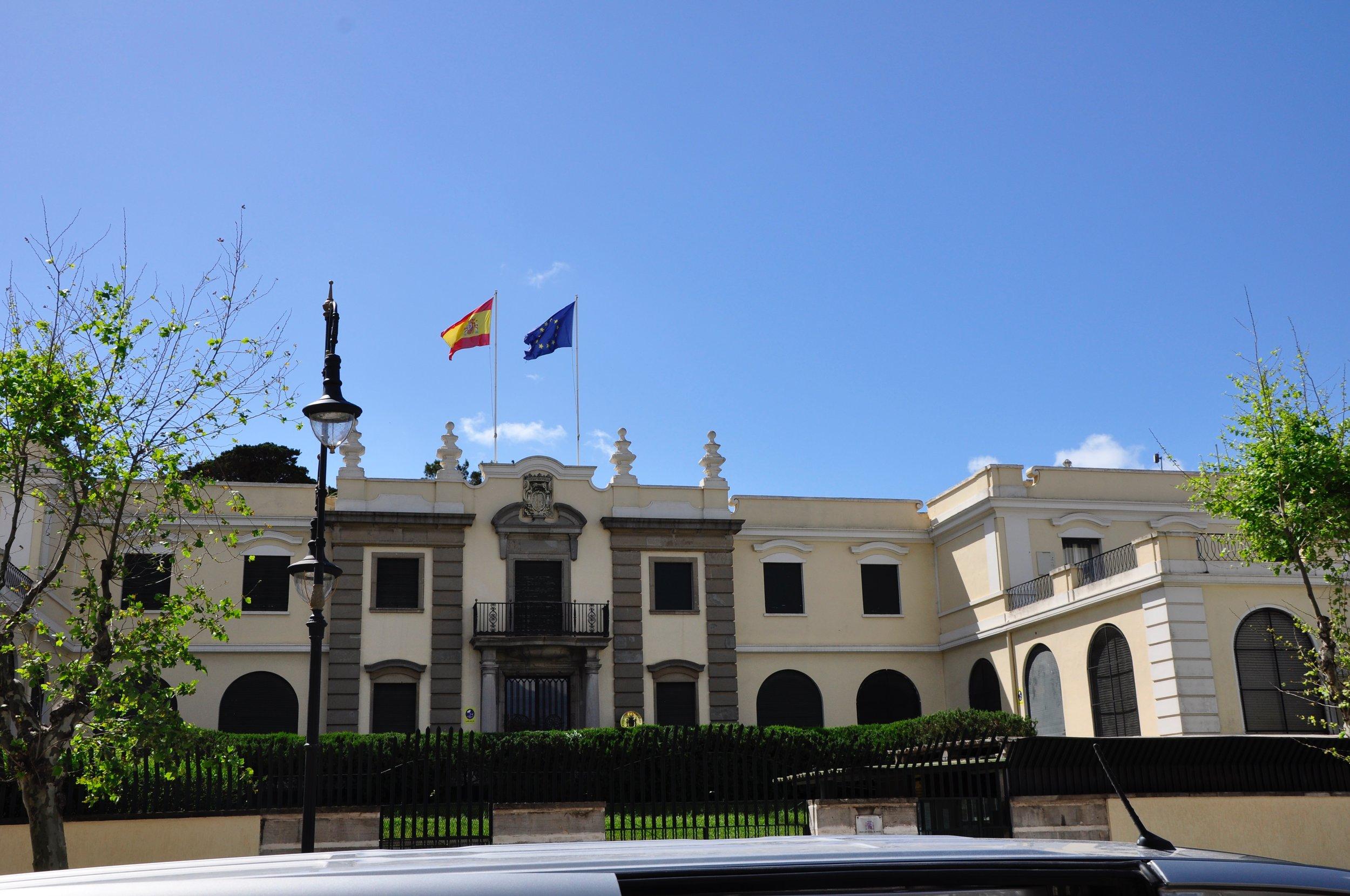 Elegant embassies
