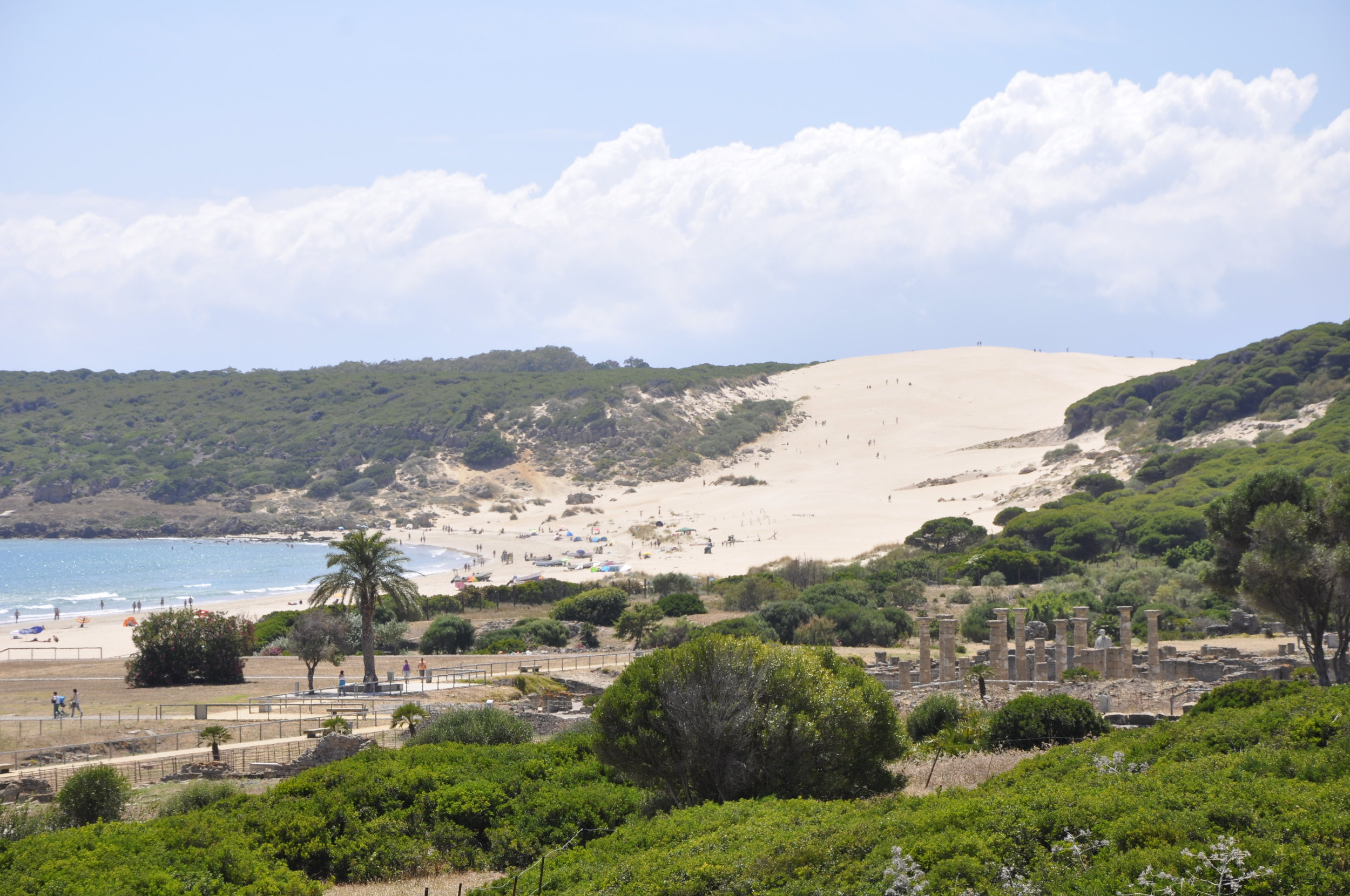 Climb the National Monument - Bolonia's 30-metre sand dune grows taller every year. The surplus provides less well-endowed resorts with their annual beach top-up.