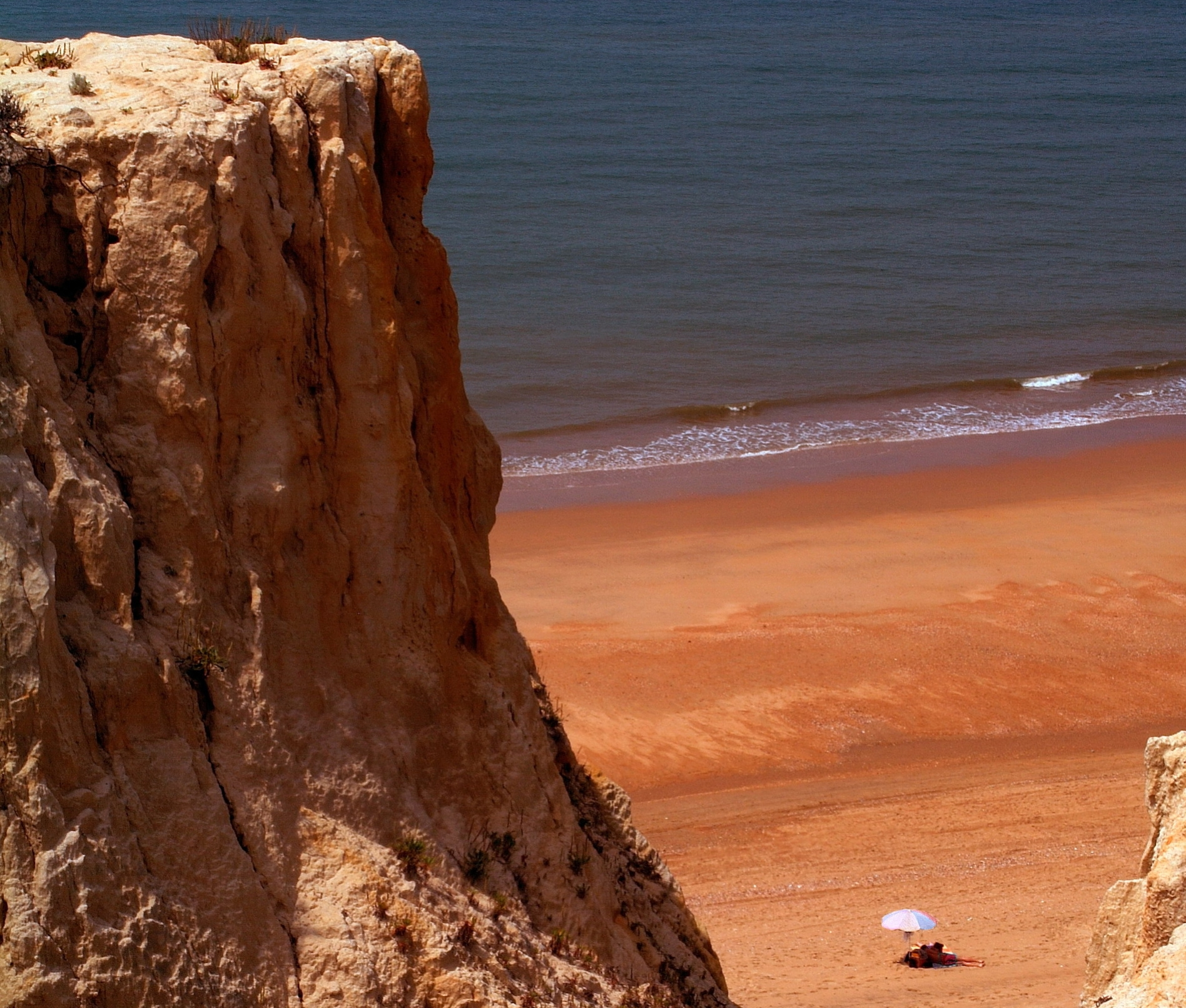Cliffs of Asperillo in Donana © Turismo Huelva.