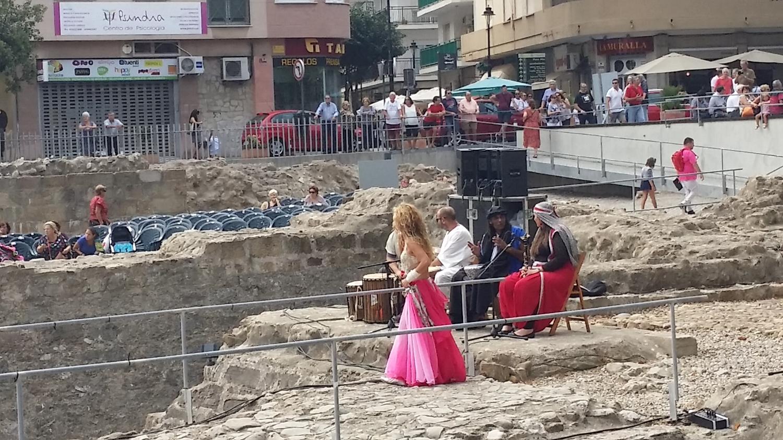 Drama in the Moorish ruins