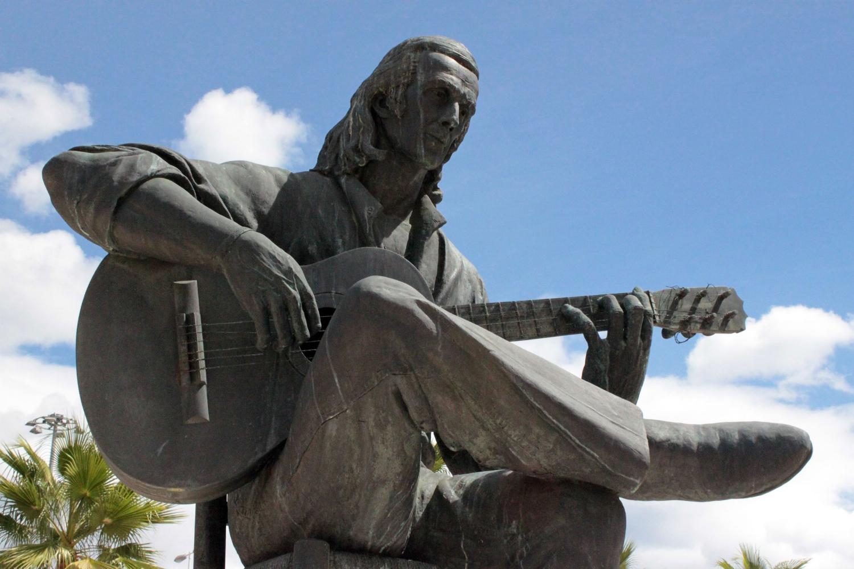 The late great flamenco guitarist Paco de Lucia was born in Algeciras. IMAGE:  Falconaumanni  -  CC BY-SA 3.0