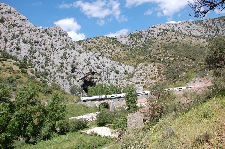 Mr Henderson's Railway runs through 16 tunnels and across 20 bridges