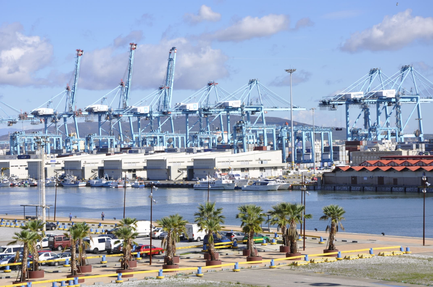 Even the port has its charms