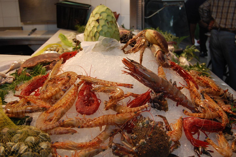 Algeciras market is fantastic for fish lovers