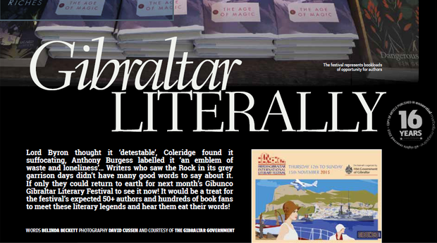 BACKGROUND READING - Click the link to find out what authors past and present think of Gibraltar