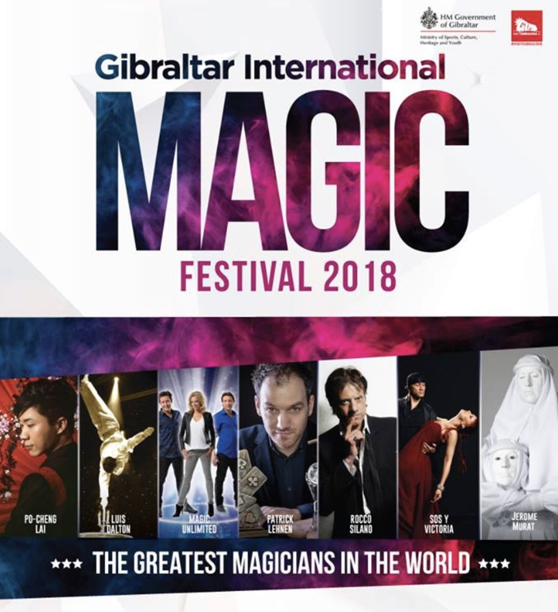 John Mackintosh Hall, matinees and evenings - Fun for all the family as Europe's top magicians, illusionists and circus acts astound you with their superhuman skills. Prices, times and tickets from www.buytickets.gi