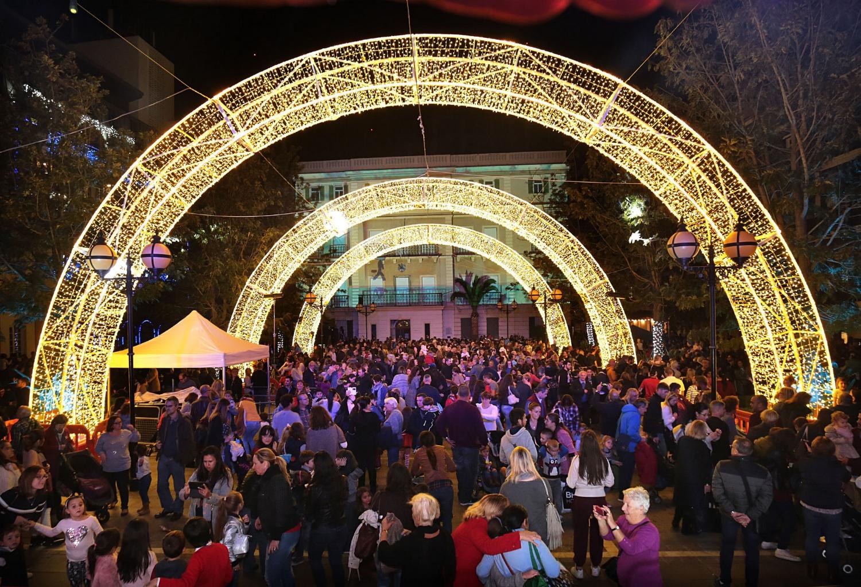 Gibraltar lights up for Christmas on Black Friday IMAGE HM Government of Gibraltar