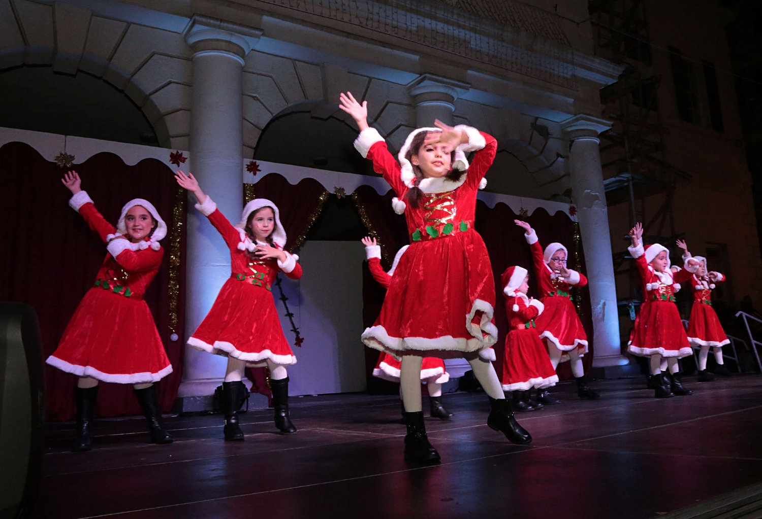 The Christmas Lights Festival is a magical family show