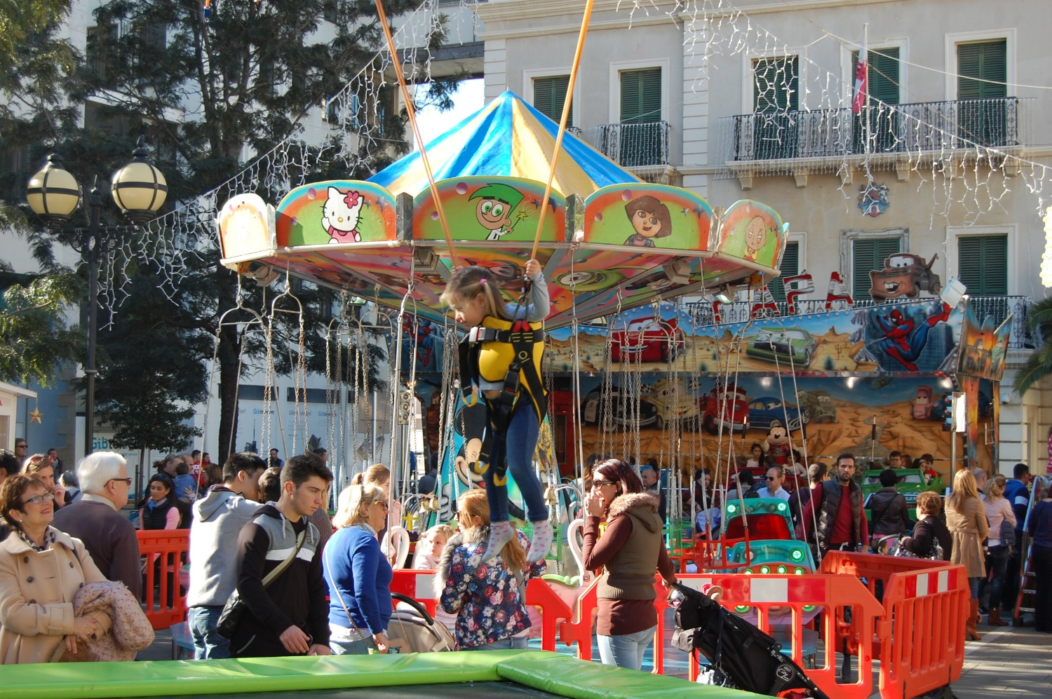 John Mackintosh Square, 12.00-19.00 - Rides and slides for little ones.