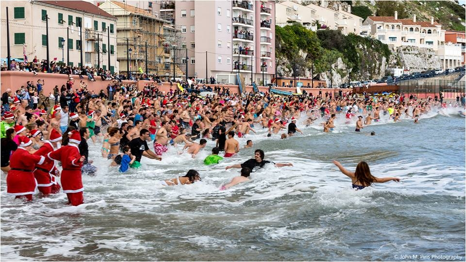 Catalan Bay - Traditional Boxing Day charity swim followed by hot toddies. Take the plunge in a good cause! Starts around midday.