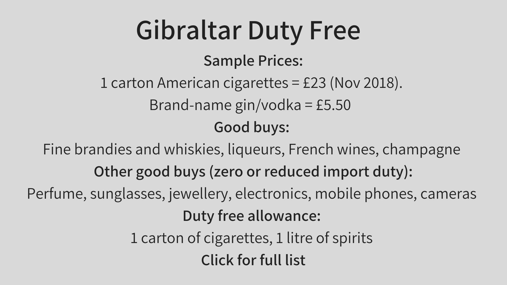 gibraltar-duty-free-allowance