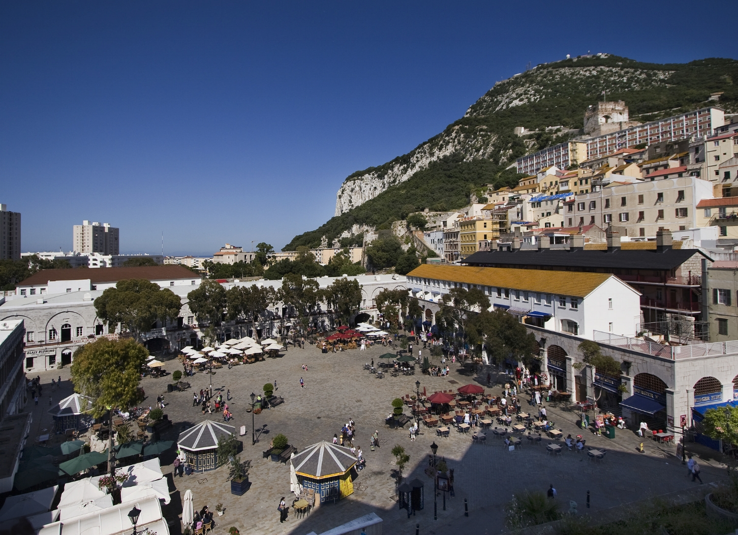 Grand Casemates Square was once the scene of public hangings
