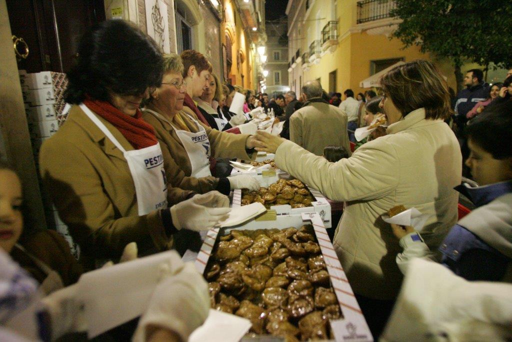 Zambomba Treats - Deep-fried fitters called pestiños flavour the zambombas of Jerez.