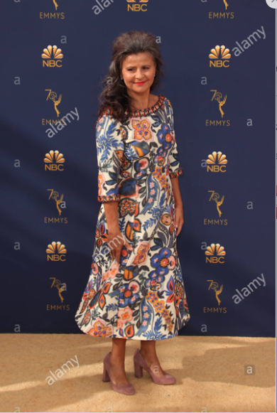 Tracey Ullman 2018 Emmys  Source: Faye Sadou/Media Punch/Alamy Live News