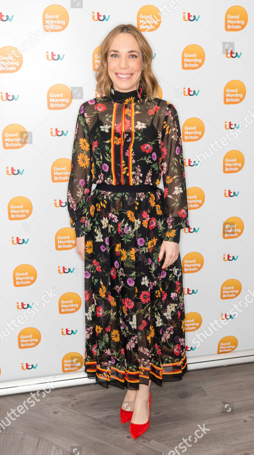 Laura Main on ITV Good Morning Britain  Source: Ken McKay/ITV/Shutterstock