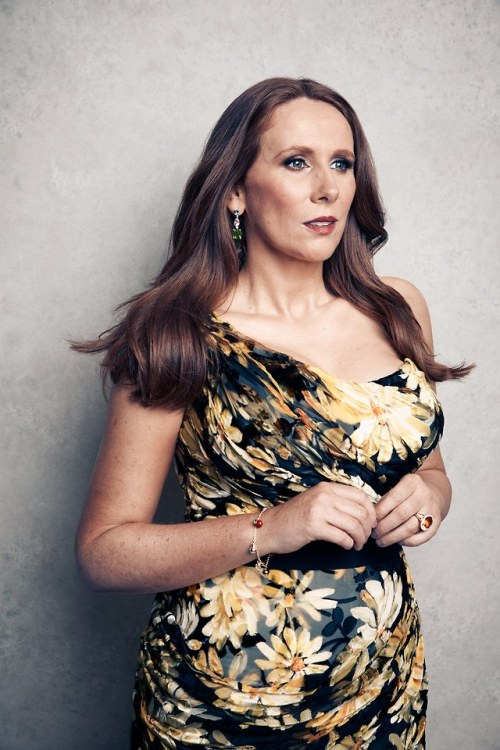 Catherine Tate photographed by Vanity Fair in ATC bespoke dress