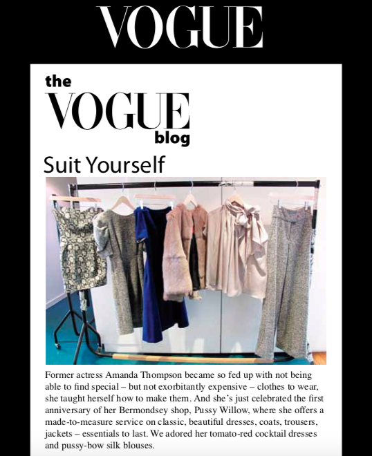 The Vogue Blog -