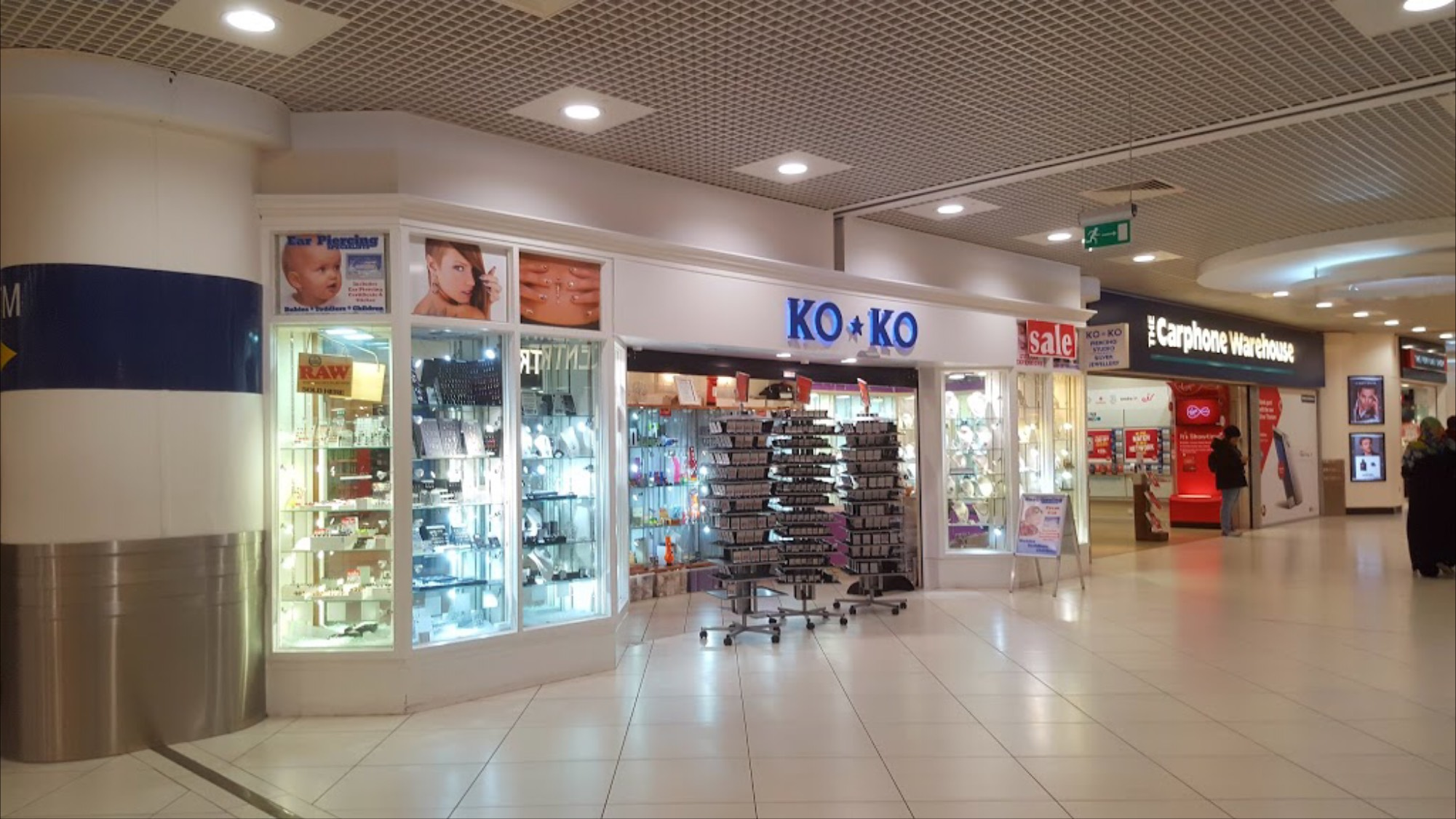 KOKO  - We are professional Body Piercing, Ear & Nose Piercing Studio with a full range of body jewellery and earrings. We are located in The Square Tallaght on level 2.Learn more ➝