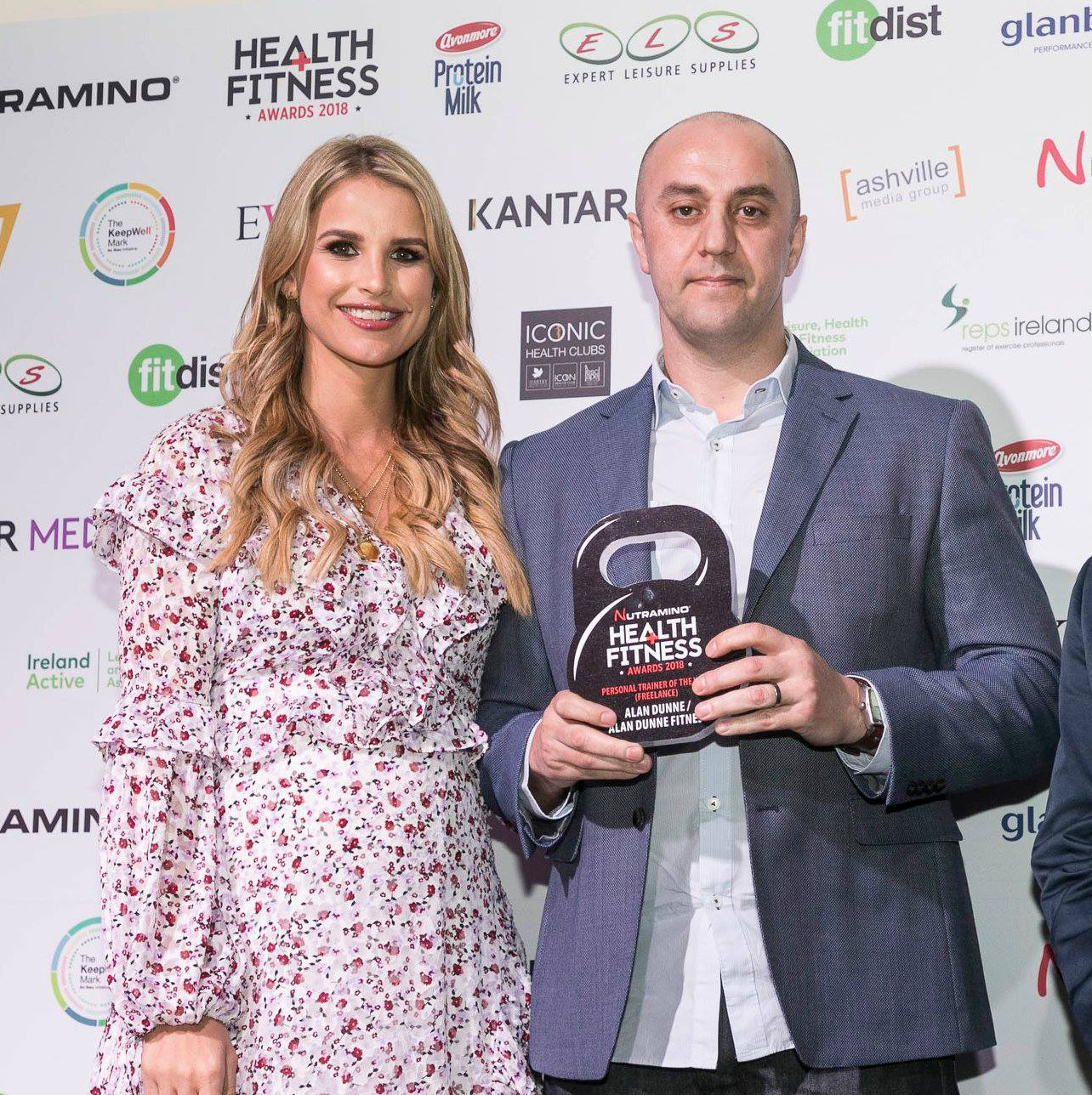 alan dunne winner of personal trainer of the year