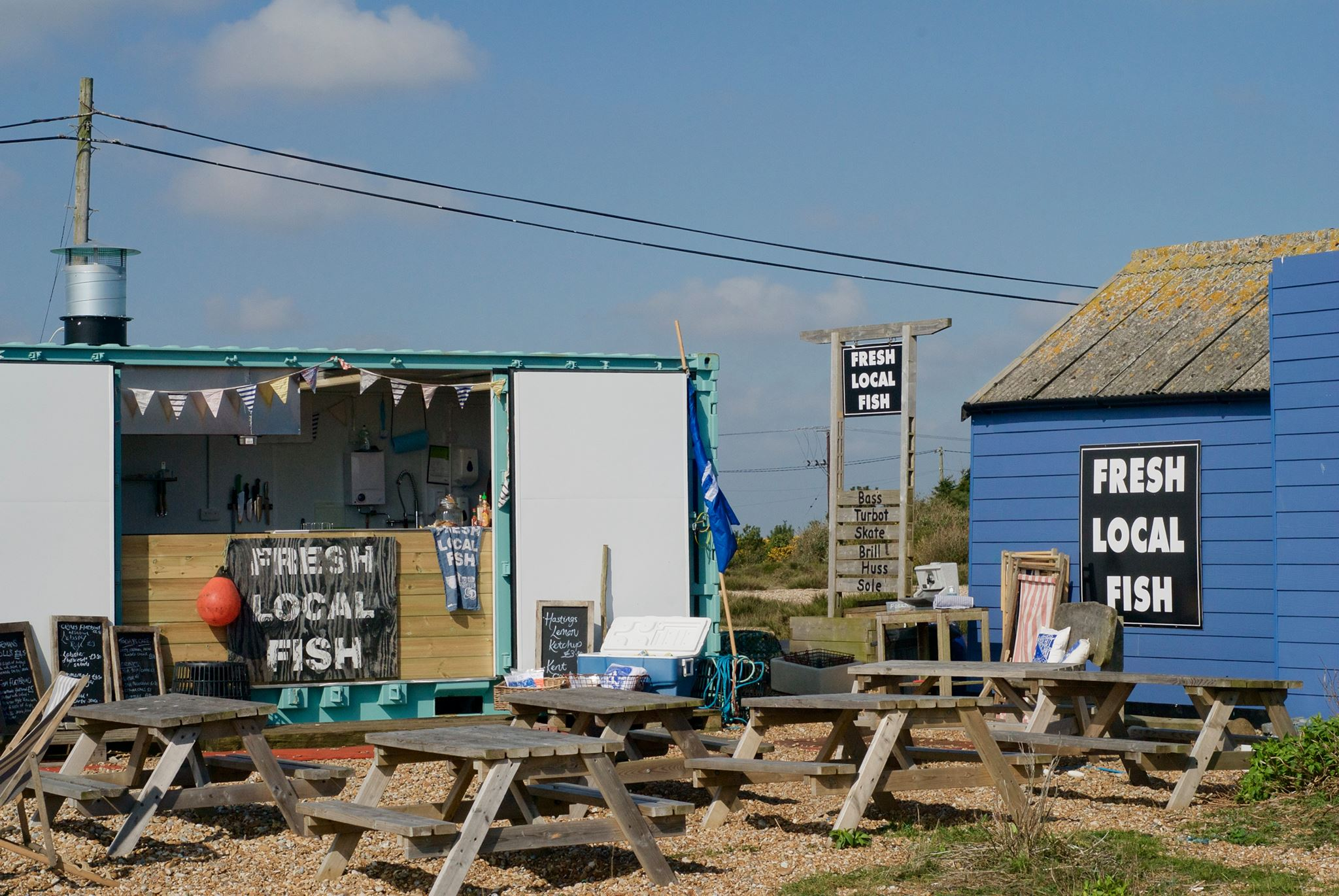 The Snack Shack, Dungeness