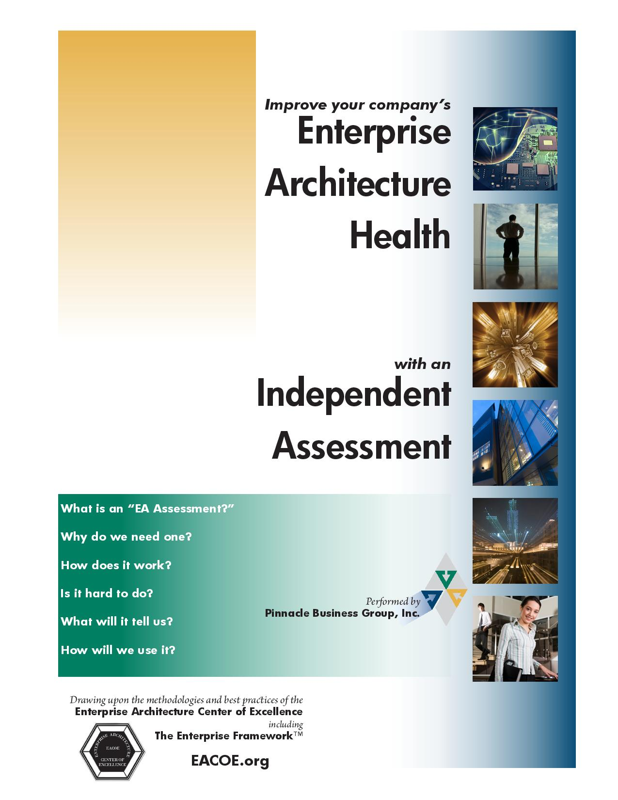 View Our EA Assessment Brochure