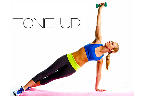 TONE UP - Lezione con parte cardio e parte di gag a terra. Perfetto per chi vuole rimanere in forma e tonificarsi.