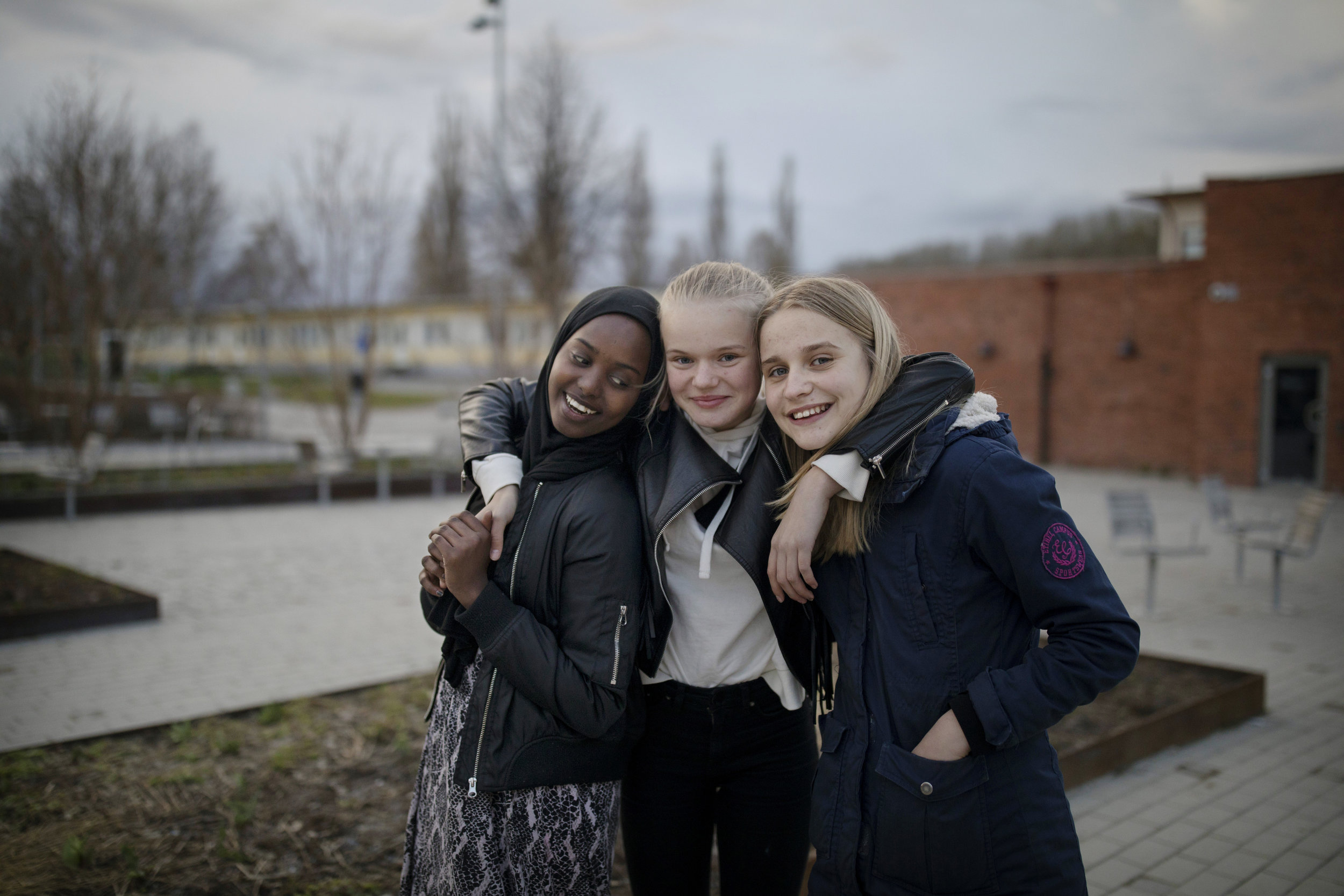 Shukri Wehliye, Nora Sylvander, Alma Brockman
