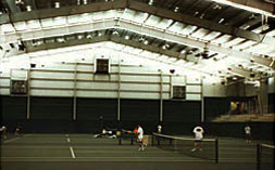 Baseline Sports Construction was proud to receive an Outstanding Tennis Facility Award from U.S.T.C. & T.B.A. in 1998for the construction of 4 indoor courts at the Goodfriend Tennis Center at the University of Tennessee. -