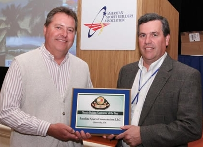 Baseline Sports Construction, Wins National Honor - Contractor of the Year -