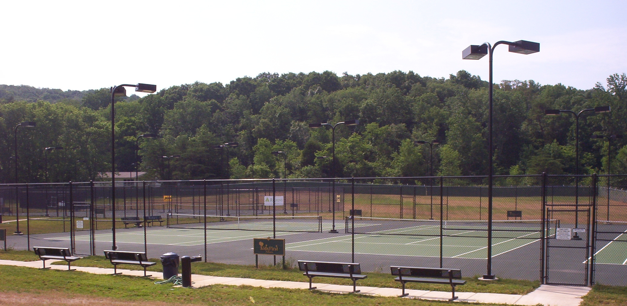 Baseline Sports Construction received an Outstanding Tennis Facility Award from American Sports Builders Association in 2008for the construction of the Greene County Tennis Association Tennis Facility in Greeneville, TN. The project consisted of 6 hard courts and 2 soft courts. -
