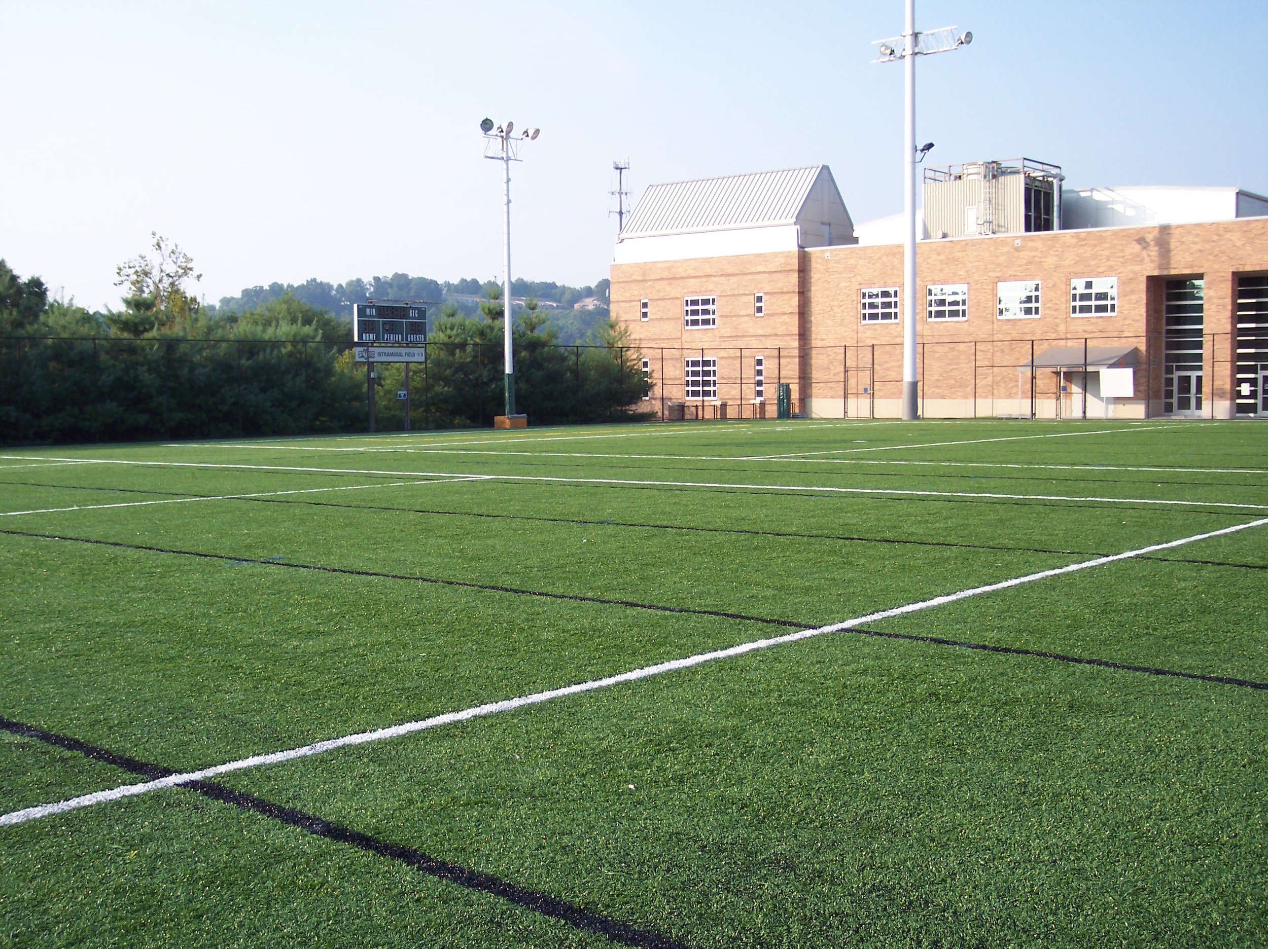 Baseline Sports Construction received an Outstanding Sports Field Award from American Sports Builders Association in 2006for the renovation of the Intramural Sports Field at the University of Tennessee in Knoxville, TN. The synthetic turf was replaced on this facility which is used for both intramural sports and marching band practice. -