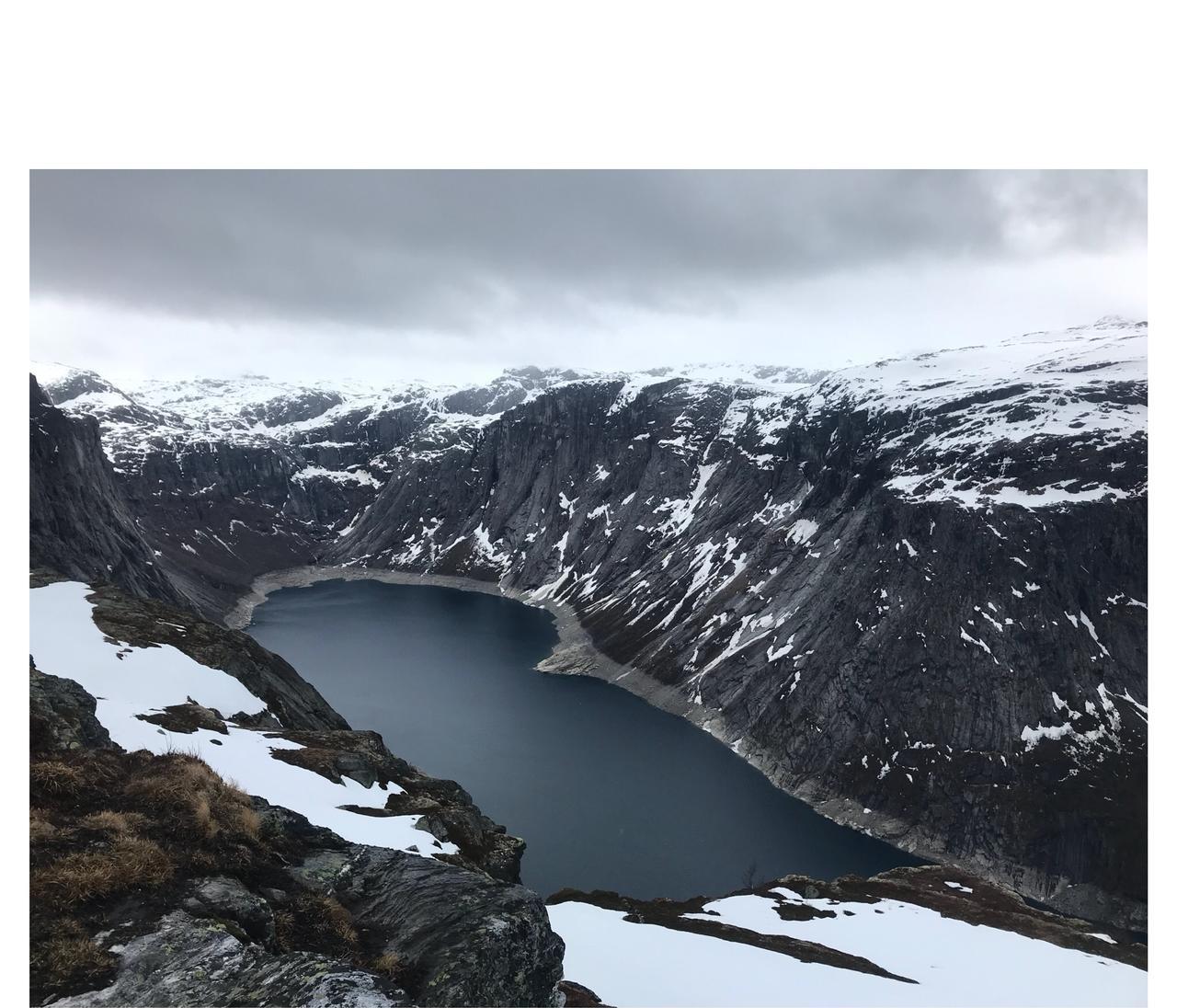 Trolltunga Roldal, Noruega. 2018