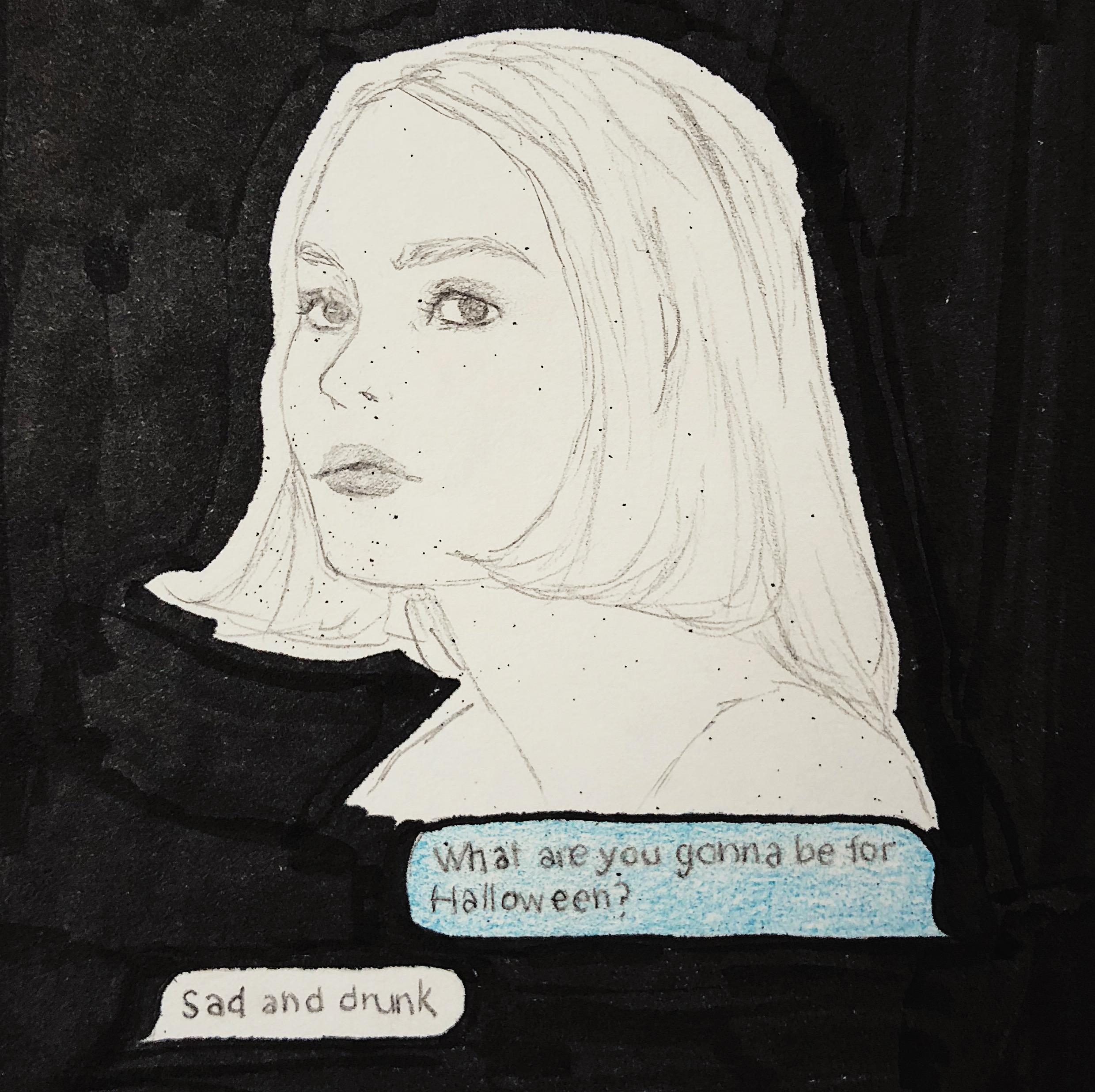 illustration, _Girl Talk_ (3).JPG