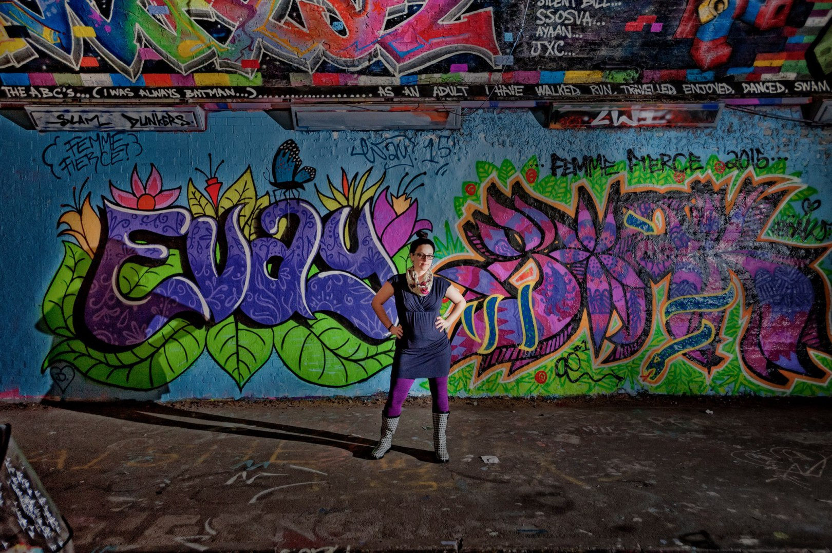 "Sk8er Grrlz - SUNY New Paltz professor Dr. Jessica Pabón-Colón has devoted her academic career to investigating the niche world of lesbian graffiti artists. ""I was just trying to look for the people that people forgot to look for,"" says Pabón-Colón about her so called ""Graffiti Grrlz"", a nod to the Riot Grrrl movement of the 90s. In her first book, Graffiti Grrlz: Performing Feminism in the Hip Hop Diaspora, a culmination of 15 years of research, Pabón-Colón addresses ideas of sexuality, feminism, and politics through the lens of the international graffiti community. Graffiti Grrlz: Performing Feminism in the Hip Hop Diaspora can be found through book stores beginning May 1."