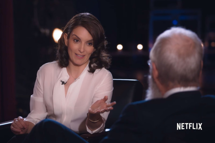 David Letterman and the History of Women in Comedy - Nell Scovell, a former writer for Late Nite with David Letterman, discusses the conversation between Tina Fey and Letterman on his Netflix series, Our Next Guest Needs No Introduction, in which Letterman mentions the lack of female writers on his previous show and displays ignorance as to why the issue exists. Scovell joined Late Nite with David Letterman in its ninth season, as only the second female writer.