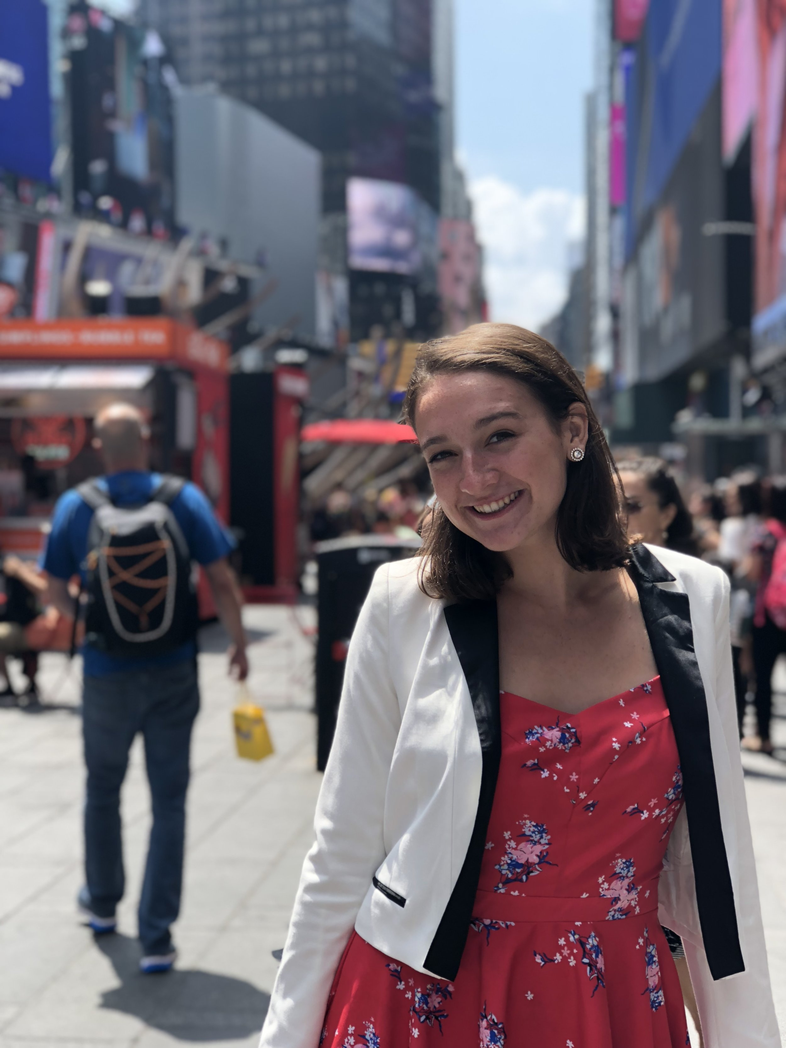 Stephanie Fawell Career Intern she/her - Stephanie is from just outside of Boston, but she is currently studying English at Colby College where she is a rising junior.Current Faves: Billie Eilish, World of Dance, Arya Stark, Roxanne Gay