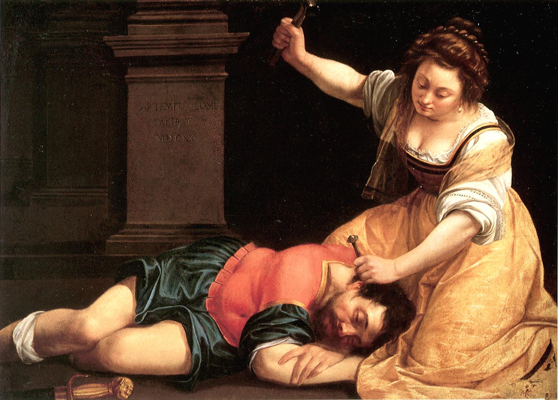 Jael and Sisera,  1620  (Credit:    Web Gallery of Art   )