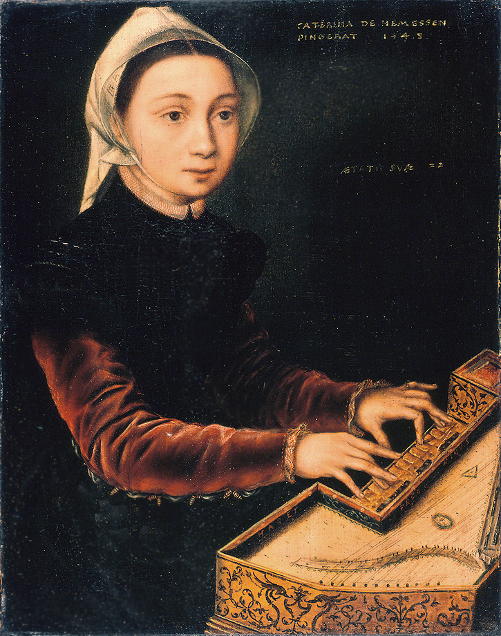 Girl at the Virginal,  1548  (Credit:    Wallraf-Richartz-Museum   )