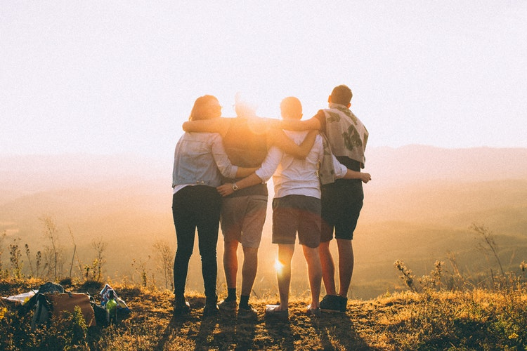 Photo by Helena Lopes on  Unsplash   While you can be there for your friends, make sure you are in a good place too.