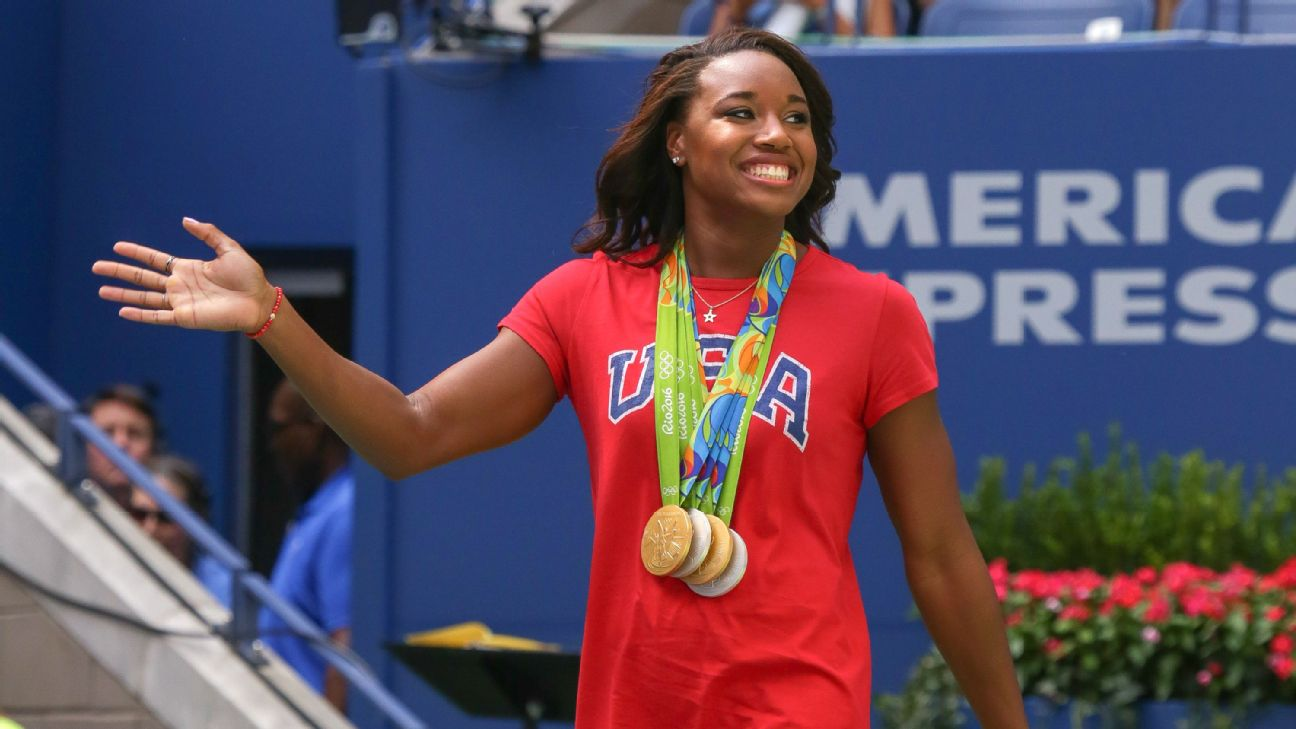 Photo Courtesy of  ESPN .  Simone has spoken out since her victory in 2016 about police brutality and the experience of being a black woman in the swimming world.
